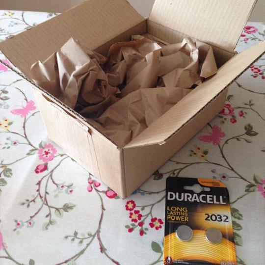 Small Batteries in Big Box