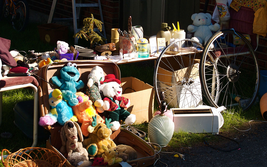Flipping Garage Sales for Fun & Profit