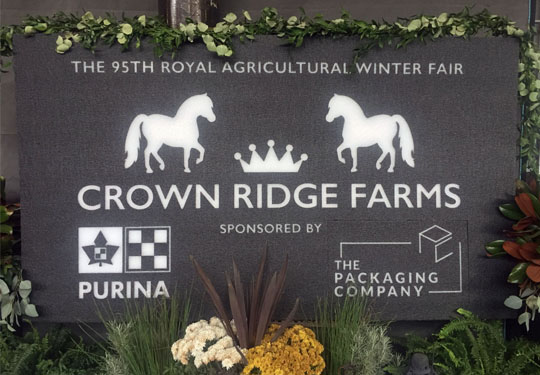 Crown Ridge Farms: Full Banner