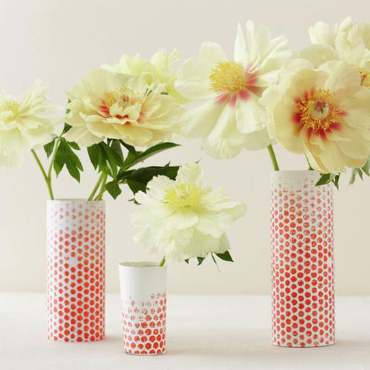 Decorating With Bubble: Vases