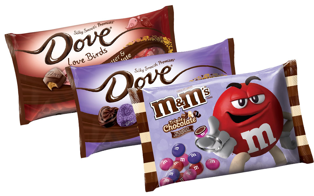 5 Lovely Examples of Valentine's Candy Packaging