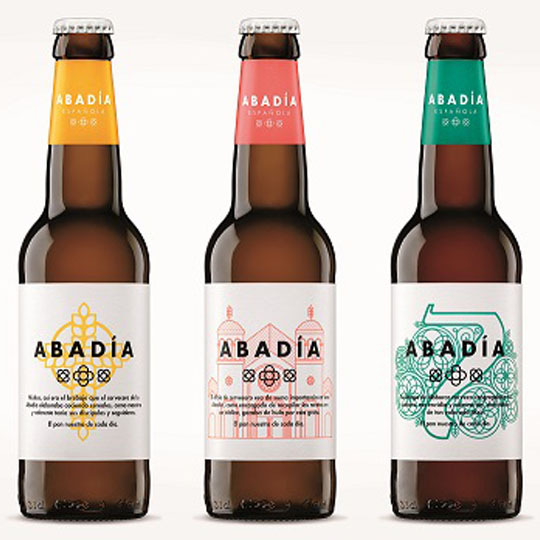 Beer Bottle Packaging: Abadia