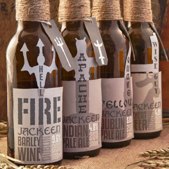 Beer Bottle Packaging: Jackeen