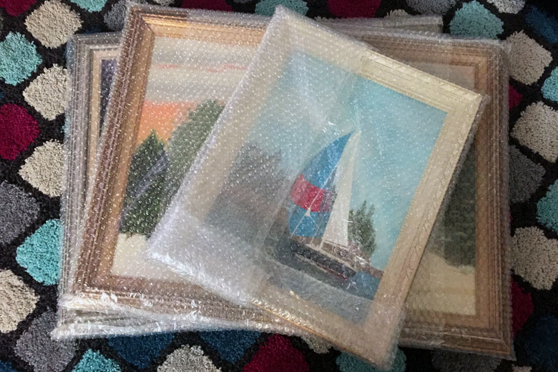Storing Artwork & Paintings