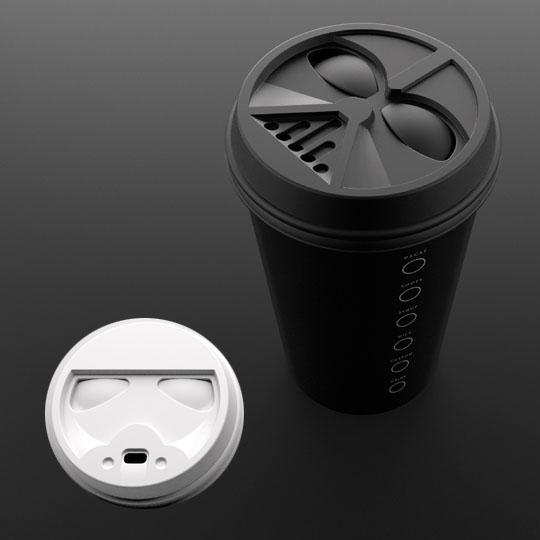 Star Wars Packaging: Coffee Lids