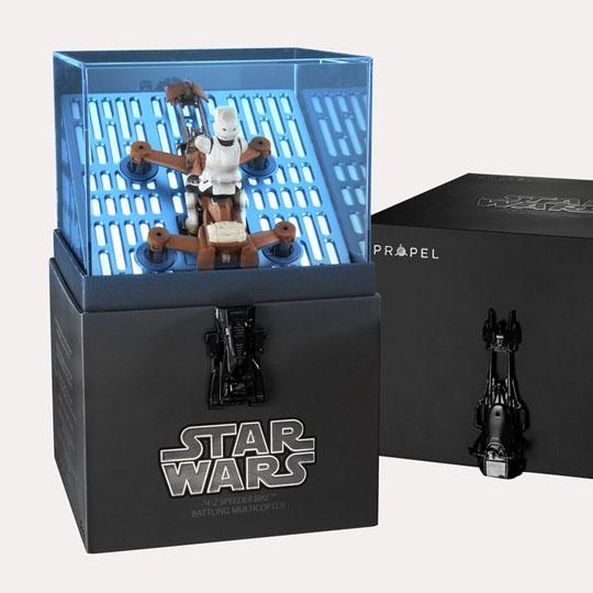 Star Wars Packaging: Drones