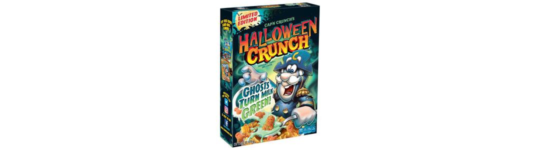 Halloween Cereal Packaging: Halloween Crunch