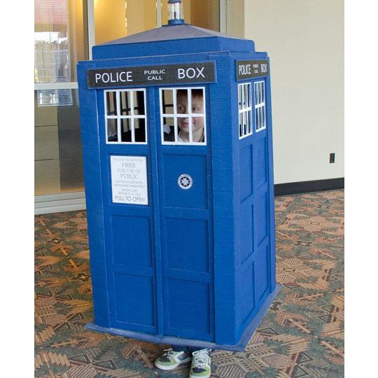 Corrugated Costumes: The TARDIS