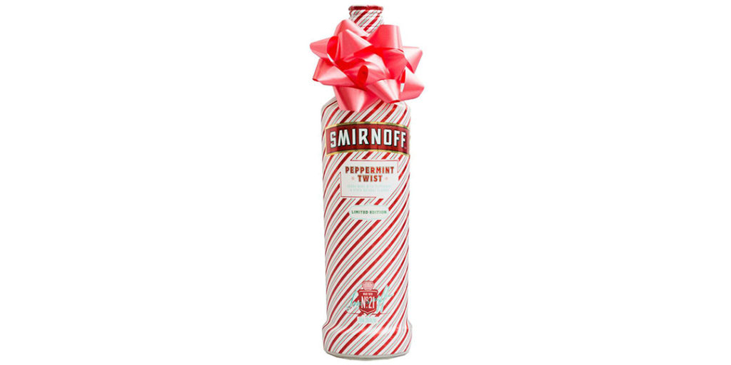 Holiday Alcohol Packaging: Smirnoff Vodka