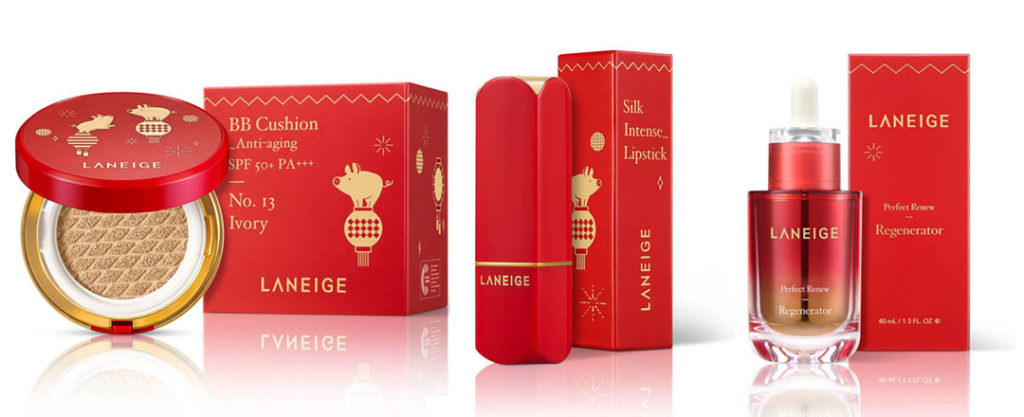 Chinese New Year Packaging: LANEIGE