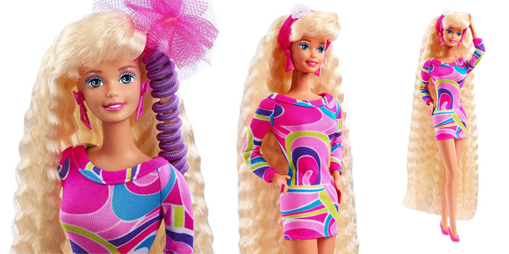 Iconic Packaging: Barbie - Totally Hair Barbie