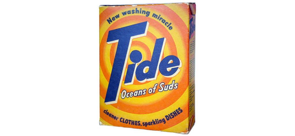 Tide Detergent: Tide Box