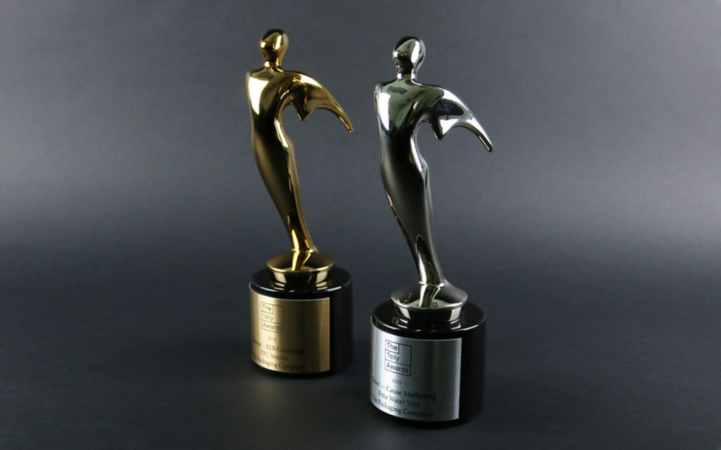 2019 Telly Awards: Bronze and Silver Statues