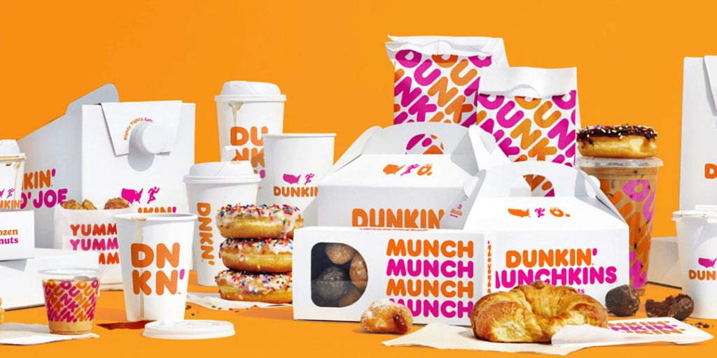 Dunkin Donuts: New Packaging