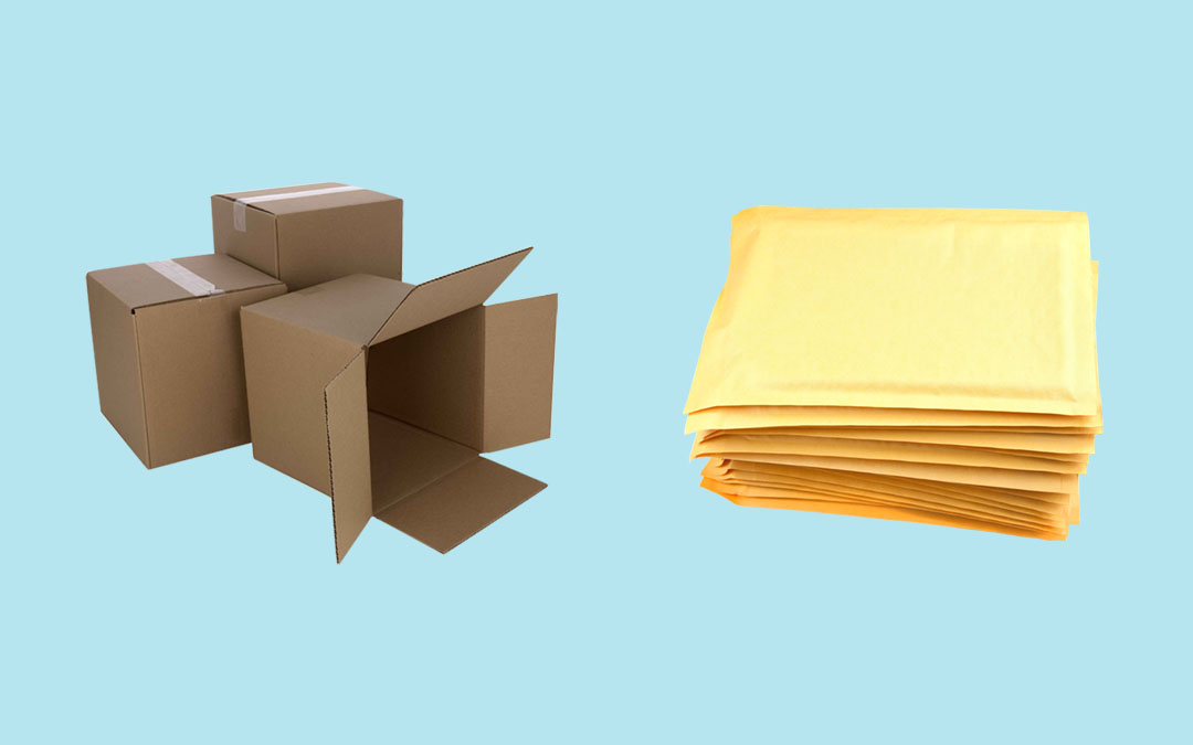 Boxes vs Mailers: What's the Difference?