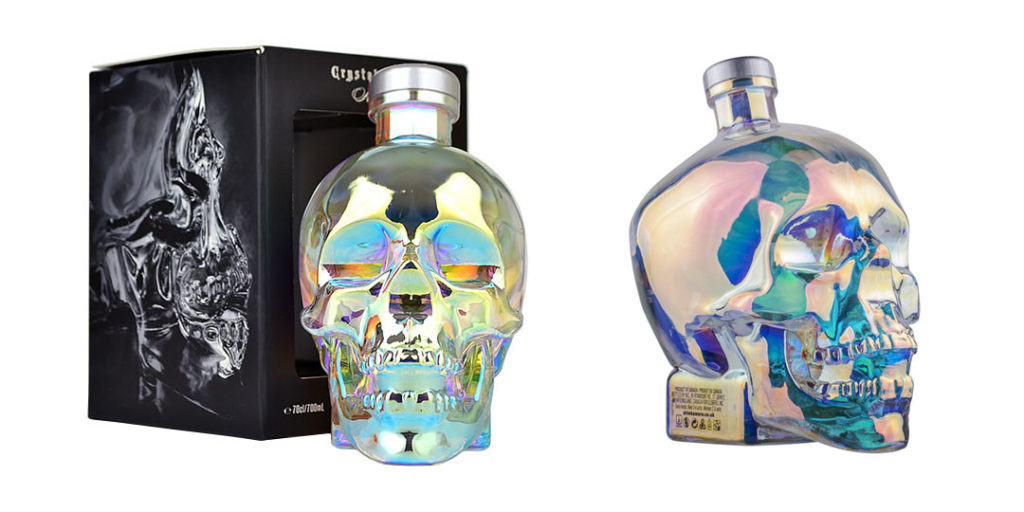Crystal Head Vodka: Aurora Bottle