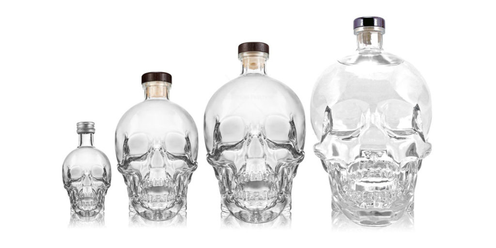 Crystal Head Vodka: Bottle Sizes