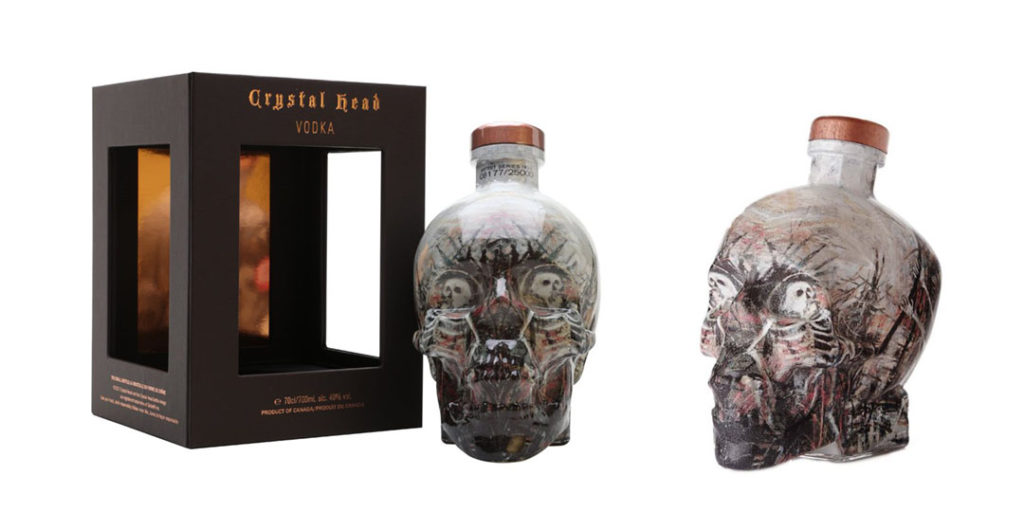 Crystal Head Vodka: John Alexander Bottle