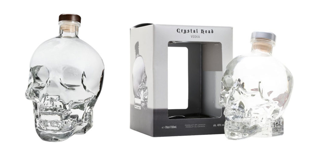 Crystal Head Vodka: Original Bottle