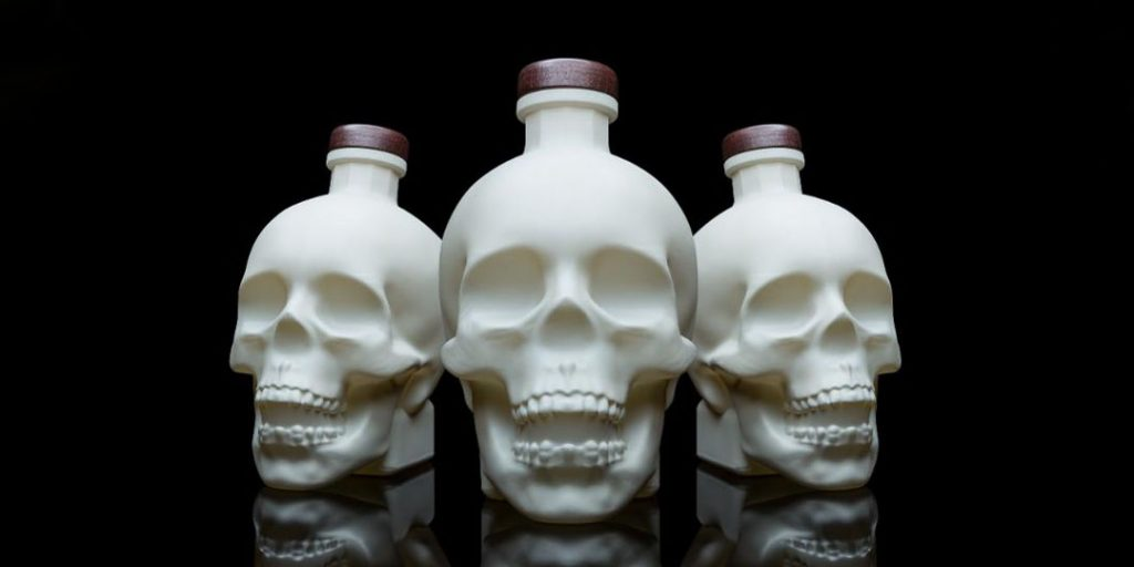 Crystal Head Vodka: Bone Bottle