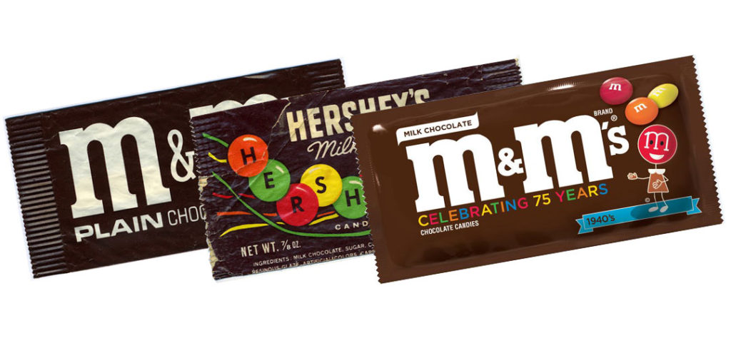 M&M's: Pouch Packaging