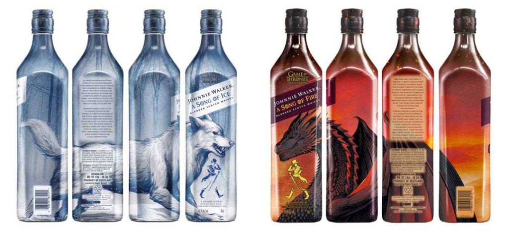 Iconic Packaging: Johnnie Walker - The Song of Ice & Fire Collection