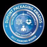 Diamond Award Winner at the 2017 DuPont Awards for Packaging Innovation