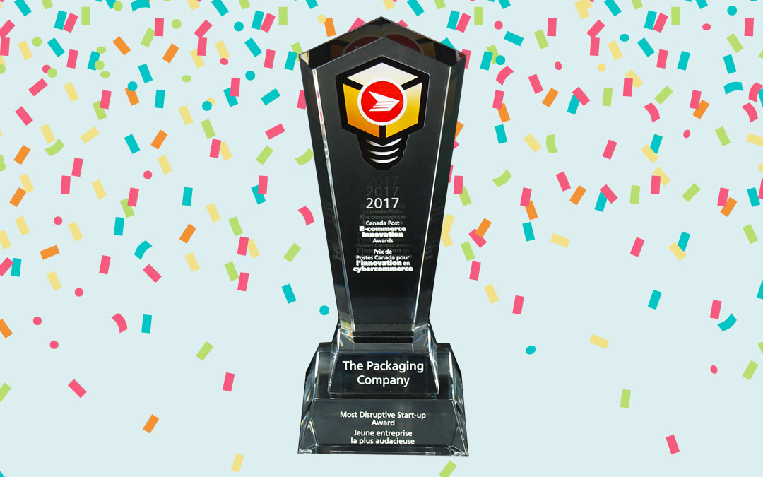 We're Winners at the 2017 Canada Post E-commerce Innovation Awards!