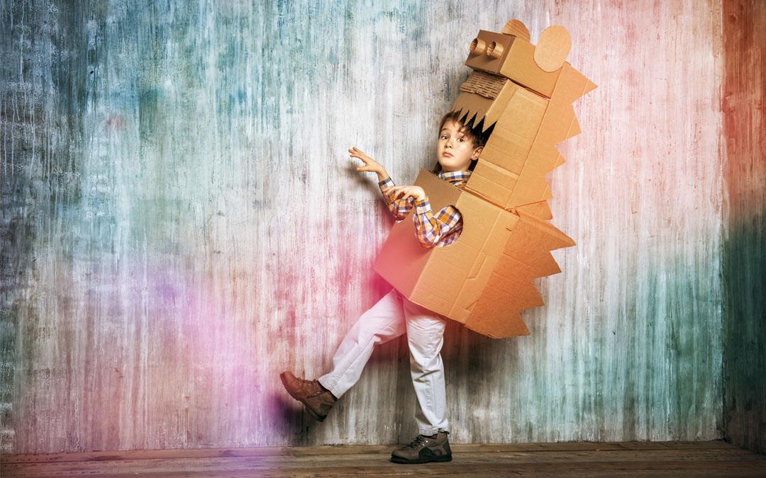 8 DIY Cardboard Costumes for Halloween Lovers