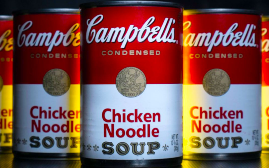 Iconic Packaging: Campbell's Soup