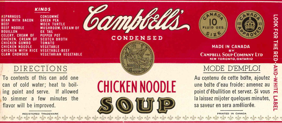 Iconic Packaging: Can Label