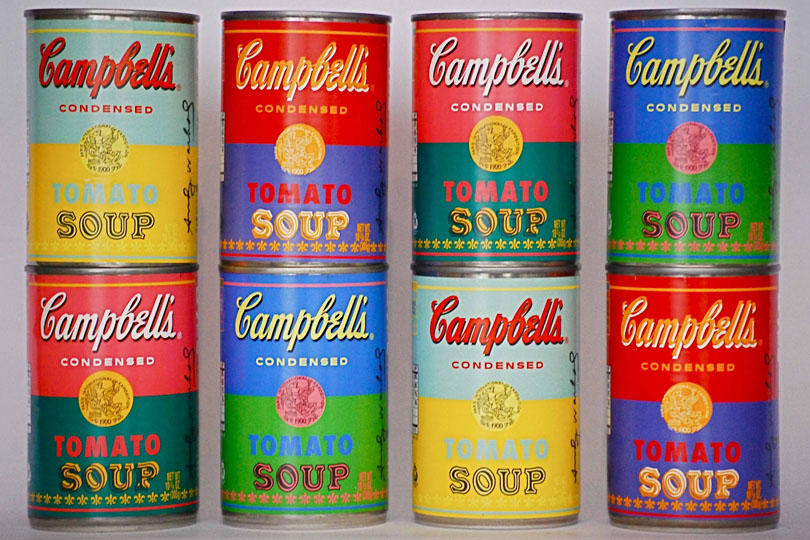 Iconic Packaging: Warhol Cans