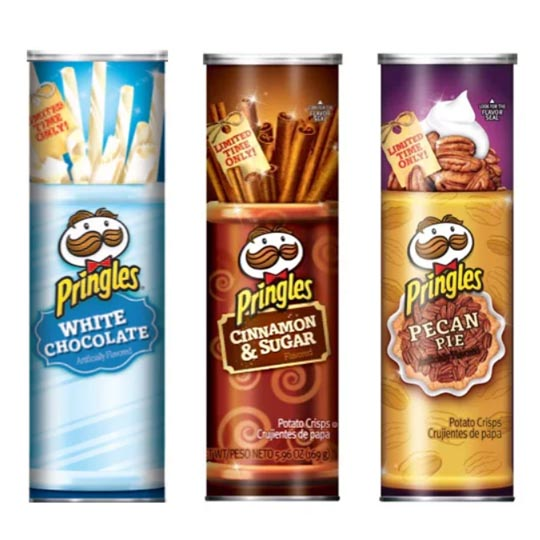 Iconic Packaging: Holiday Flavours