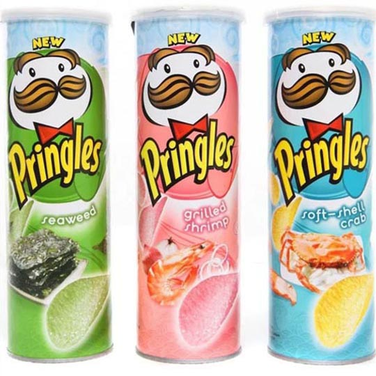 Iconic Packaging: International Flavours