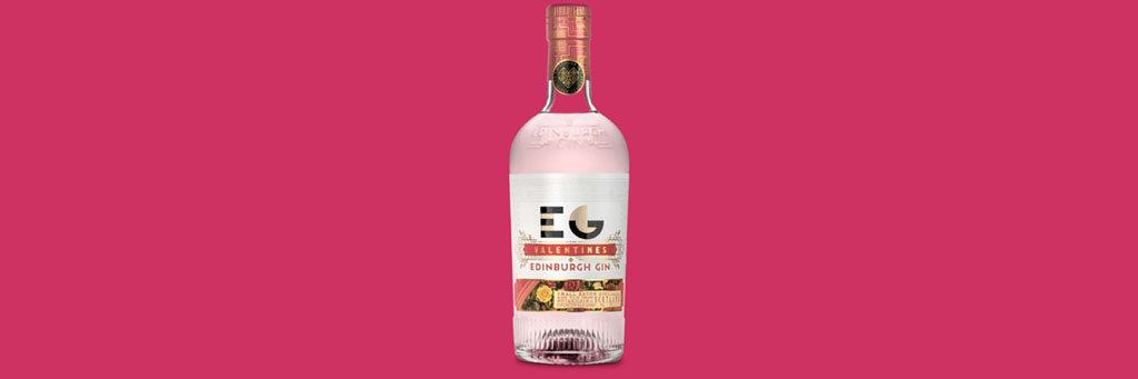 Valentines Alcohol Packaging: Edinburgh Gin 1