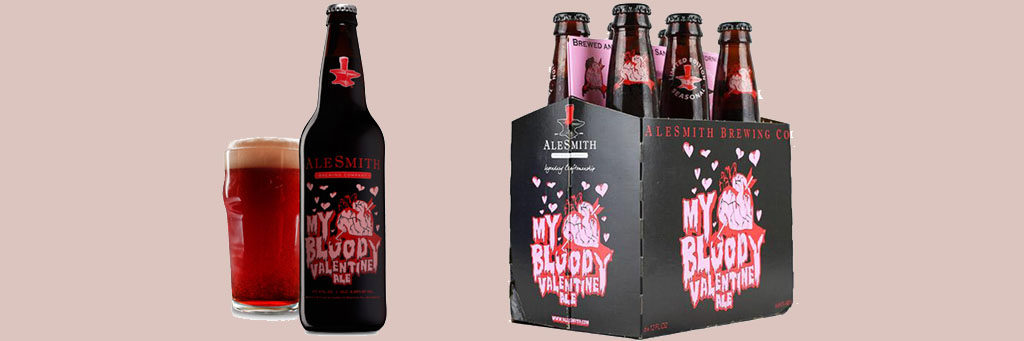Valentines Alcohol Packaging: My Bloody Valentine