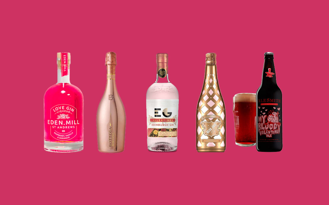 5 Lovely Examples of Valentine's Alcohol Packaging