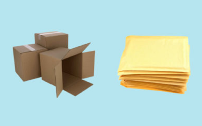 When Should You Use Boxes or Envelopes for Packaging?