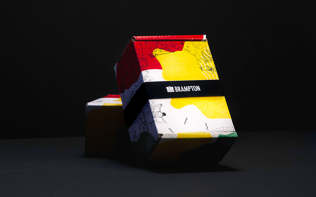 The Black History Month Experience Box on Display