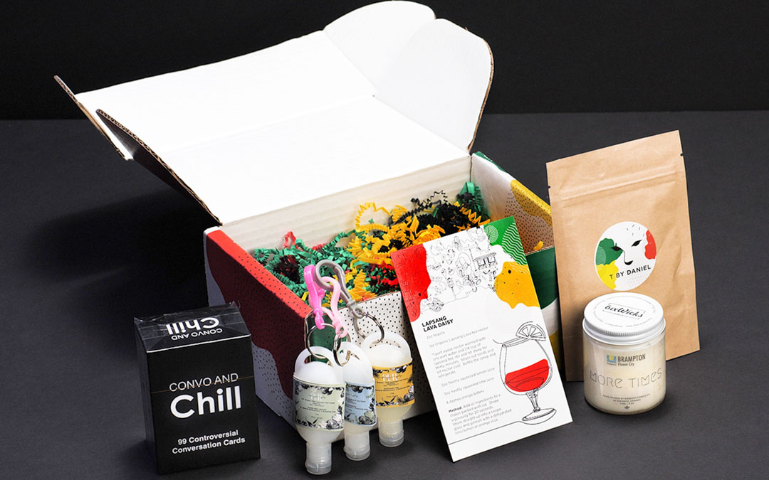 The Black History Month Experience Box and its Contents
