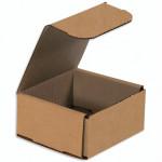 Indestructo Mailers, Kraft, 4 x 4 x 2