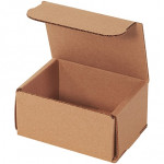 Indestructo Mailers, Kraft, 4 x 3 x 2