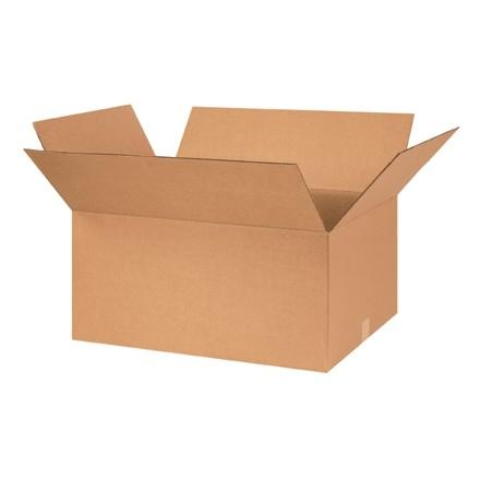 "Corrugated Boxes, 26 x 18 x 12"", Kraft"