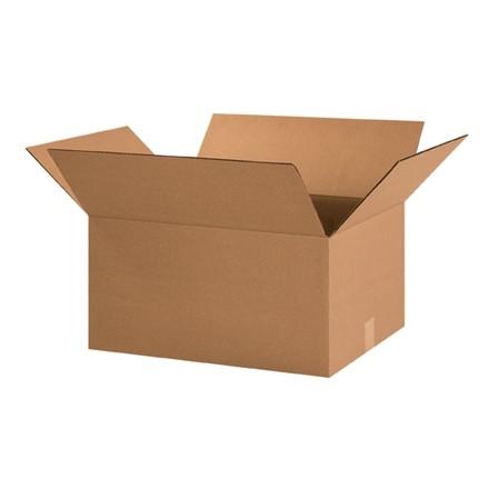 "Corrugated Boxes, 20 x 15 x 10"", Kraft"