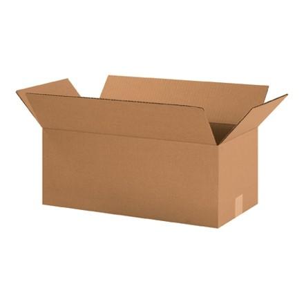 "Corrugated Boxes, 20 x 10 x 8"", Kraft"