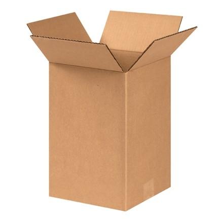 "Corrugated Boxes, 8 x 8 x 12"", Kraft"