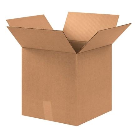 "Corrugated Boxes, 12 3/4 x 12 3/4 x 13 1/2"", Kraft"