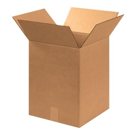 "Corrugated Boxes, 12 x 12 x 16"", Kraft"