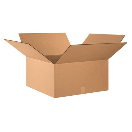 """Double Wall Corrugated Boxes, 24 x 24 x 12"""", 48 ECT"""