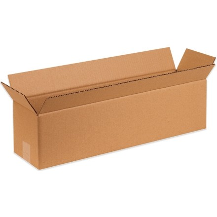 "Corrugated Boxes, 48 x 6 x 6"", Kraft"